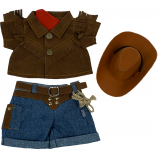 """Cowboy 8"""" Outfit"""