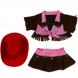 "Cowgirl With Red Hat 16"" Outfit"