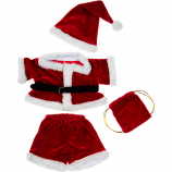 "Santa Costume 16"" Outfit"