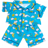 "Blue Flannel PJ's 16"" Outfit"