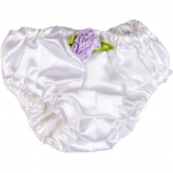 White Satin Knickers