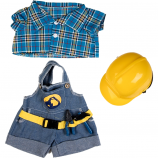 "Construction Worker 16"" Outfit"
