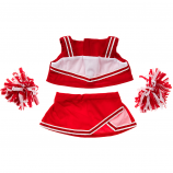 "Red Cheerleader 16"" Outfit"