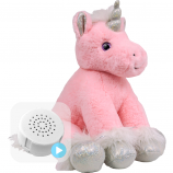 "Starlight Unicorn 8"" Baby Heartbeat Bear"