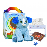 "Blue Puppy 8"" Travel Ted"