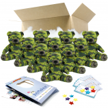 """Camo Bear 16"""" Party Pack"""