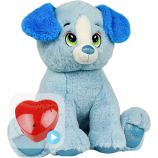 "Blue Puppy 16"" Baby Heartbeat Bear"