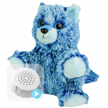 "Blue Fox 8"" Baby Heartbeat Bear"