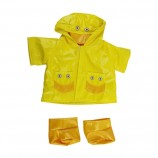 """Duck Raincoat with Boots 16"""" Outfit"""