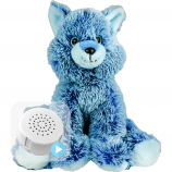 "Blue Fox 16"" Baby Heartbeat Bear"