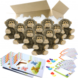 """Monkey 8"""" Party Pack"""