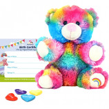 "Rainbow Drop 8"" Bear Skin"