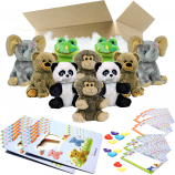 "Zoo 8"" Party Pack"