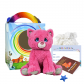 "Blush the Pink Kitty 8"" Travel Ted"