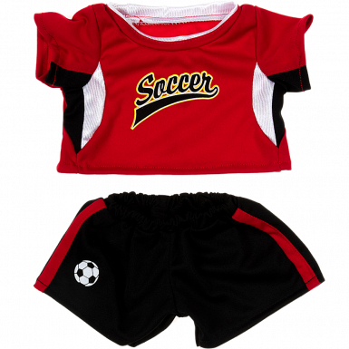 """Red Football Kit 16"""" Outfit"""