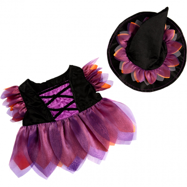 """Halloween Witch 16"""" Outfit"""