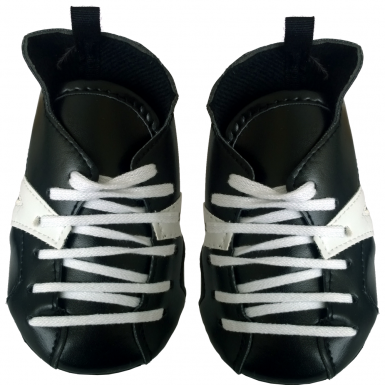 """Black 16"""" Ice Skates"""