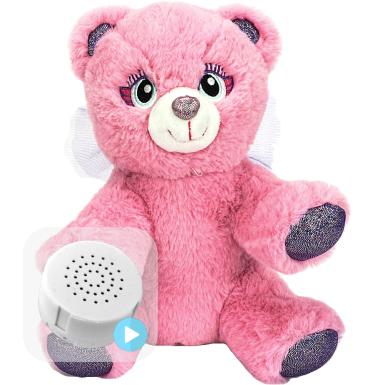 """Winged Angel Bear 8"""" Baby Heartbeat Bear"""