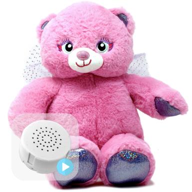 """Winged Angel Bear 16"""" Baby Heartbeat Bear"""