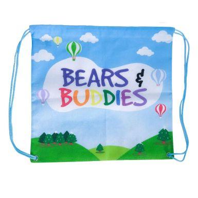 Bears & Buddies Drawstring Bag