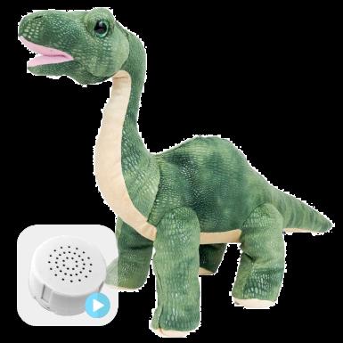 "Brontosaurus 16"" Baby Heartbeat Bear"