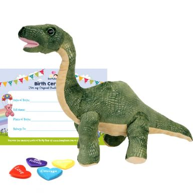 """Brontosaurus 8"""" Dinosaur Skin"""