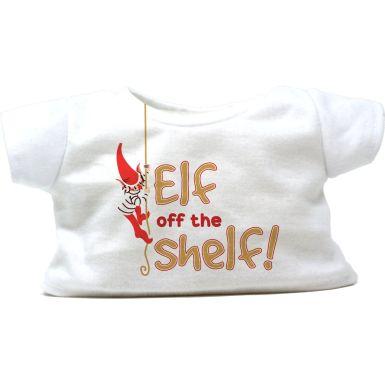"""Elf Off The Shelf 16"""" Christmas T-Shirt"""