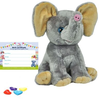 "Ellie Elephant 16"" Animal Skin"