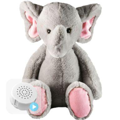 "Flopsy Elephant 10"" Baby Heartbeat Bear"