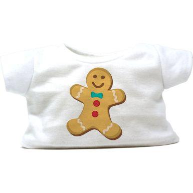 "Gingerbread Man 16"" Christmas T-Shirt"