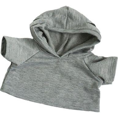 """Grey 16"""" Hoodie"""