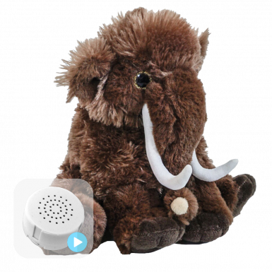 "Woolly Mammoth 8"" Baby Heartbeat Bear"