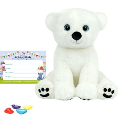 """Polar Bear 16"""" Bear Skin"""