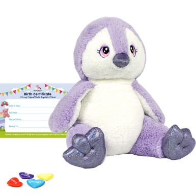 "Purple Penguin 16"" Animal Skin"