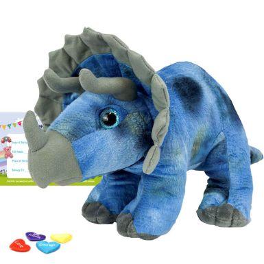 "Tricky The Triceratops 16"" Dinosaur Skin"