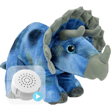 """Tricky The Triceratops 16"""" Baby Heartbeat Bear"""