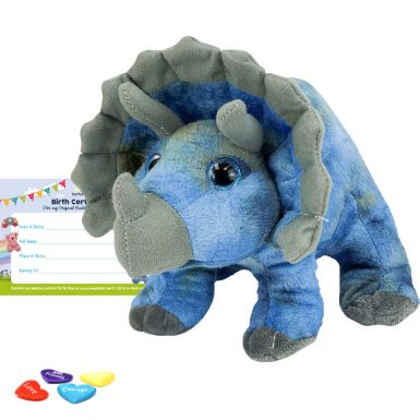 "Tricky The Triceratops 8"" Dinosaur Skin"
