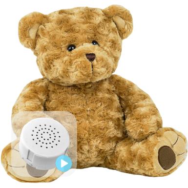 """Twist Bear 16"""" Baby Heartbeat Bear"""
