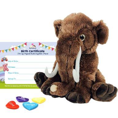 "Wollie the Woolly Mammoth 16"" Bear Skin"