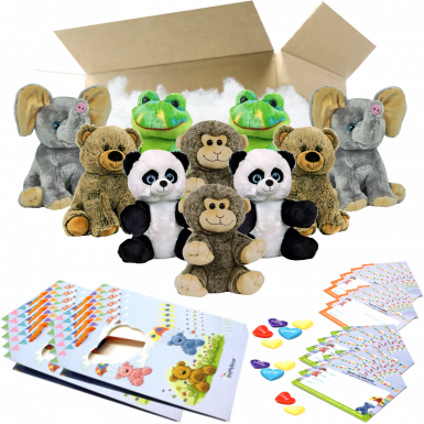 """Zoo 8"""" Party Pack"""